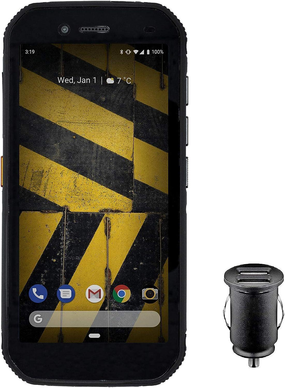 CAT S42 Smartphone (13,97cm (5,5 pulgadas) pantalla HD+, 32 GB de memoria interna (ampliable a 128 GB) y 3 GB de RAM, Dual-SIM, Android 10) - Edición exclusiva para Amazon, incl adaptador
