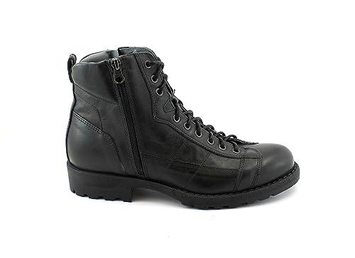 09940f8909c NERO GIARDINI 640 Antracita Gris Zapatos Hombre Botines Botas Anfibios Tipo  Zip Cordones 44  Amazon.es  Zapatos y complementos