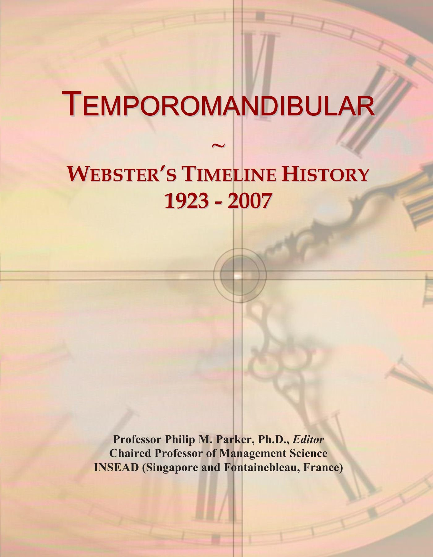 Temporomandibular: Webster's Timeline History, 1923 - 2007
