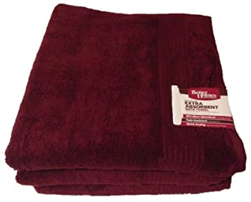 Amazoncom Better Homes and Gardens Extra Absorbent Bath Towel