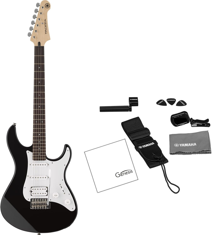 Yamaha Pacifica serie pac012 guitarra eléctrica Negro (afinador ...