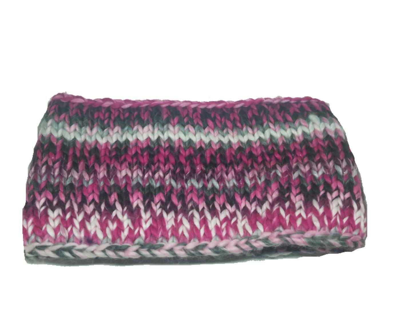 Spyder Women's Twisty Headband, Pink/Black/White