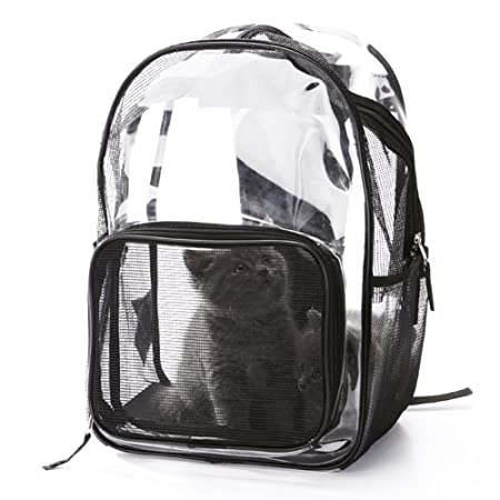 Amazon.com: Zero Pet Cat Backpack Travel Bag Breathable Carriers Portable Outdoor Travel Hiking: Sports & Outdoors