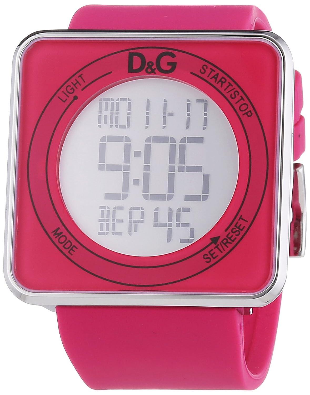 D&G Dolce&Gabbana Damen-Armbanduhr XL Digital Quarz Kautschuk DW0737