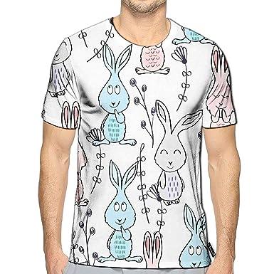 Randell 3D Printed T-Shirts Jellyfish Cartoon Short Sleeve Tops Tees