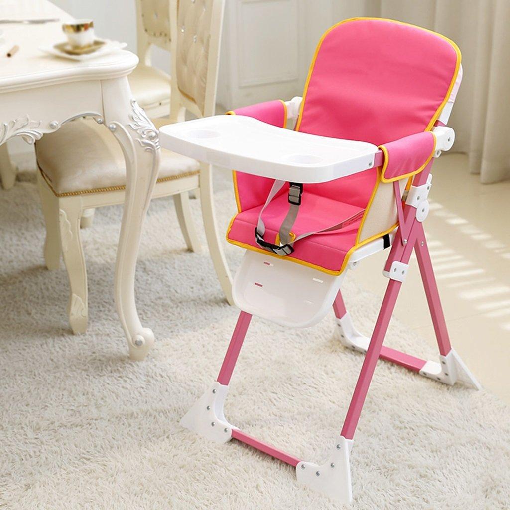 ZGL 子ども椅子 ヨーロッパのベビーダイニングチェア折り畳み式チャイルドシートポータブルダイニングチェアチャイルドイートチェアレストランチェア ( 色 : Style-2 )  Style-2 B07C5MM4KS