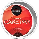 "Last Confection 7"" x 2"" Deep Round Aluminum Cake Pan - Professional Bakeware"