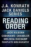 J.A. Konrath Books in Order: Jack Daniels Series in Reading Order, Jack Kilborn, Codename: Chandler, Melinda DuChamp…