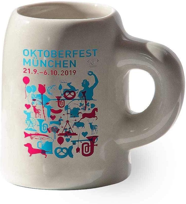 edizione limitata 4 cl Boccale da collezione 2019 Oktoberfest per grappa