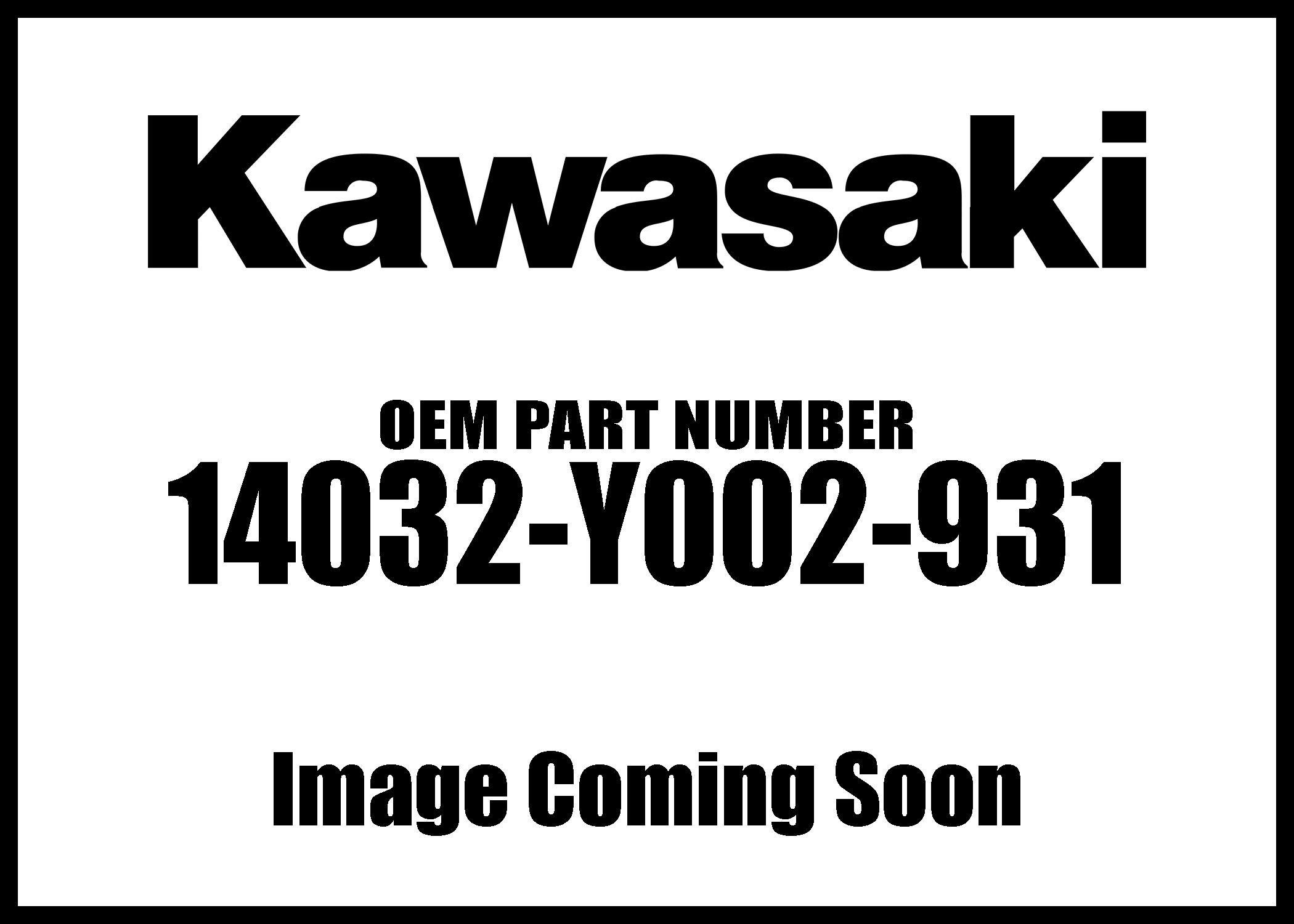 Kawasaki 07-17 KFX Cover Clutch Black 14032-Y002-931 New OEM