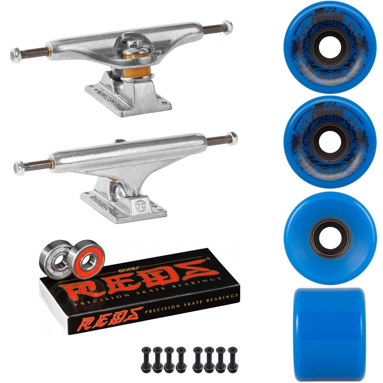 スケートボードキットIndy 159 Trucks OJスーパージュース60 mm 78 a Wheels CreatureブルーReds   B07DQV3ZT6