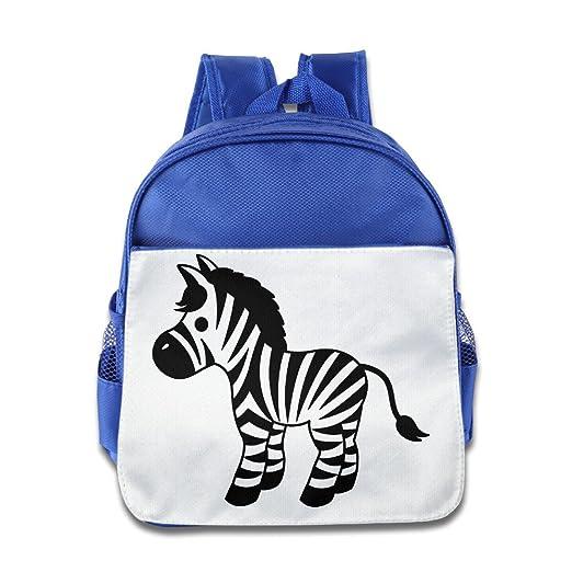 55bf8b50d20f Amazon.com: NUBIA Horse Zebra Toddler Kid Pre School Schoolbag ...