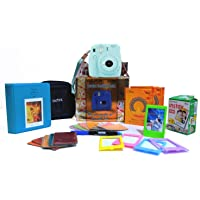 Fujifilm Instax Mini 9 Festive Pack Instant Camera (Ice Blue)