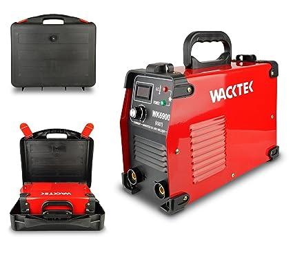 WK6900 Soldador WACKTEK con inversor electrodo maletín compacto con 200 amp