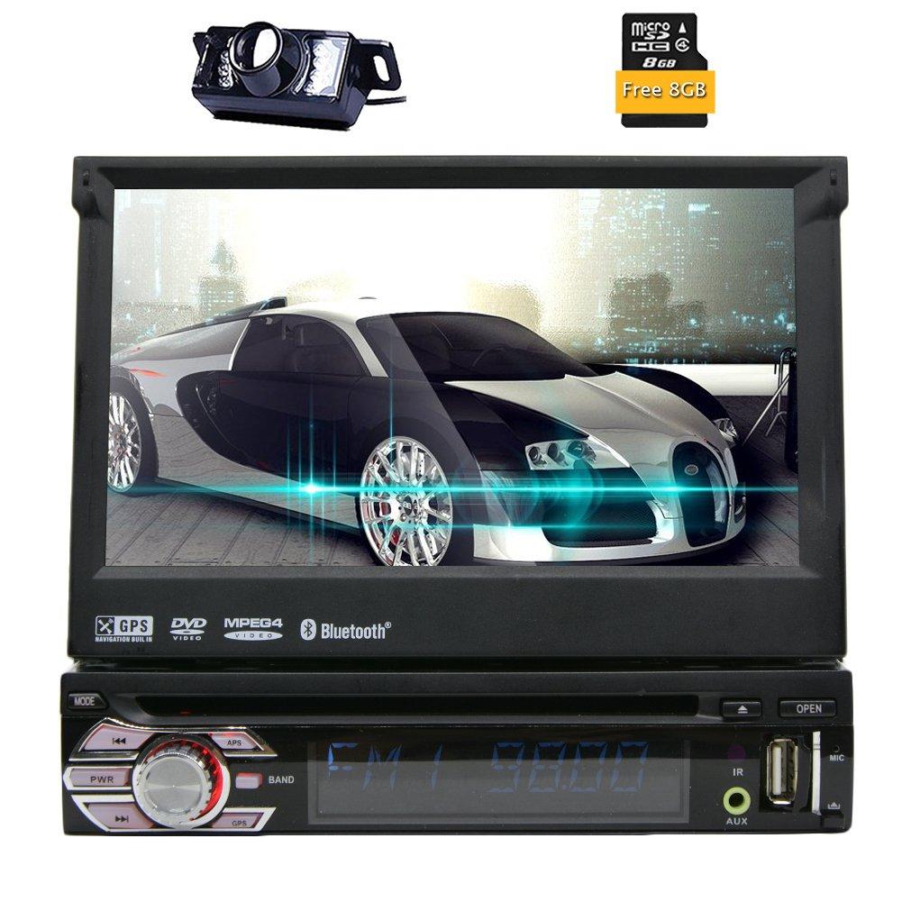 Eincar DIN Autoradio con pulgadas de pantalla táctil LCD de HD GPS
