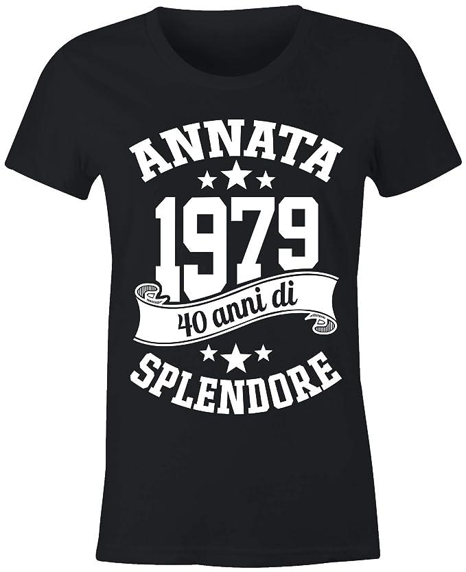 23 opinioni per 6TN Donna Realizzata nel 1979 40 Anni di Stupenda Maglietta del 40 ° Compleanno