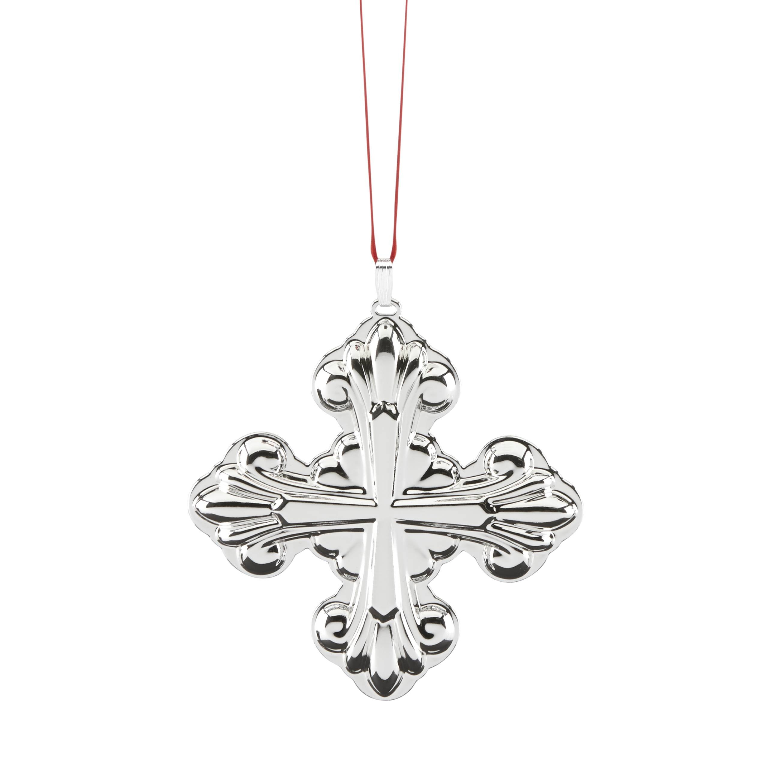 Reed & Barton Christmas Cross, 47th Edition Ornament by Reed & Barton