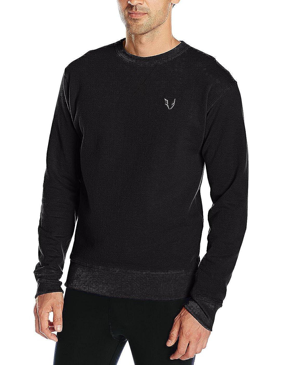 FIRM ABS Men's Active Crewneck Sweatshirt Novelty Pullover SW001