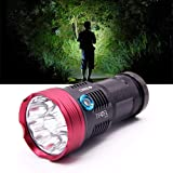 Super Bright 10x Cree XM-L T6 LED 10000 Lumen