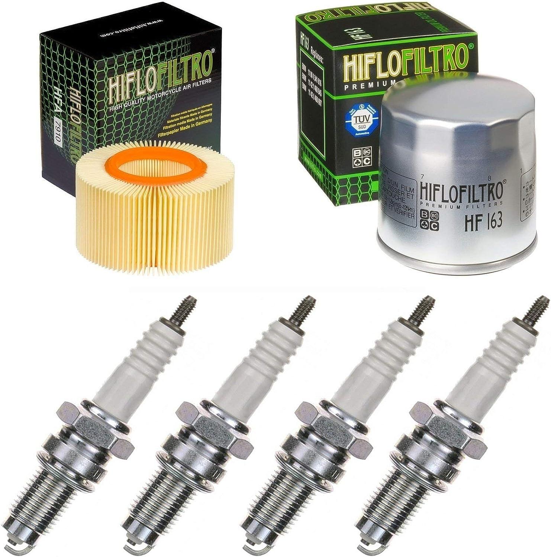 pamoto-Kit13 Filtro de aire filtro de aceite buj/ías R 1150 GS ABS 2003 2004 doble encendido kit de mantenimiento