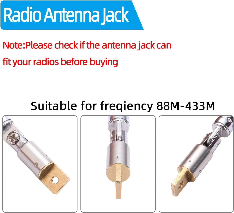 Moinkerin 2 Stücke Radio Antennen Teleskopantenne Elektronik