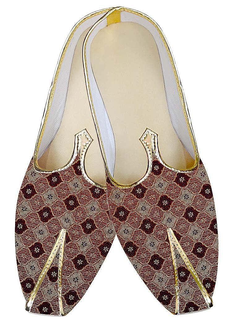 INMONARCH Borgoña Hombres Boda Zapatos Grill Diseño MJ03165 42 EU