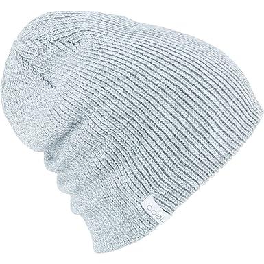 2f4390e83ff Amazon.com  Coal Unisex The Frena Solid Beanie Light Grey Marl  Clothing