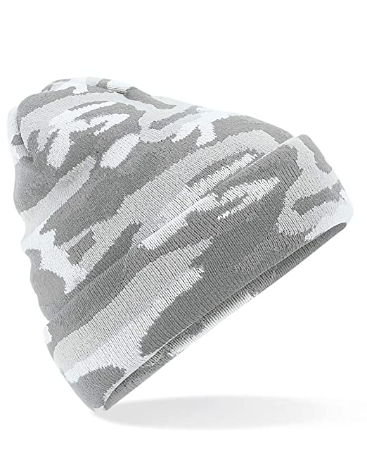 Camo Cuffed Beanie Beechfield Original Headwear