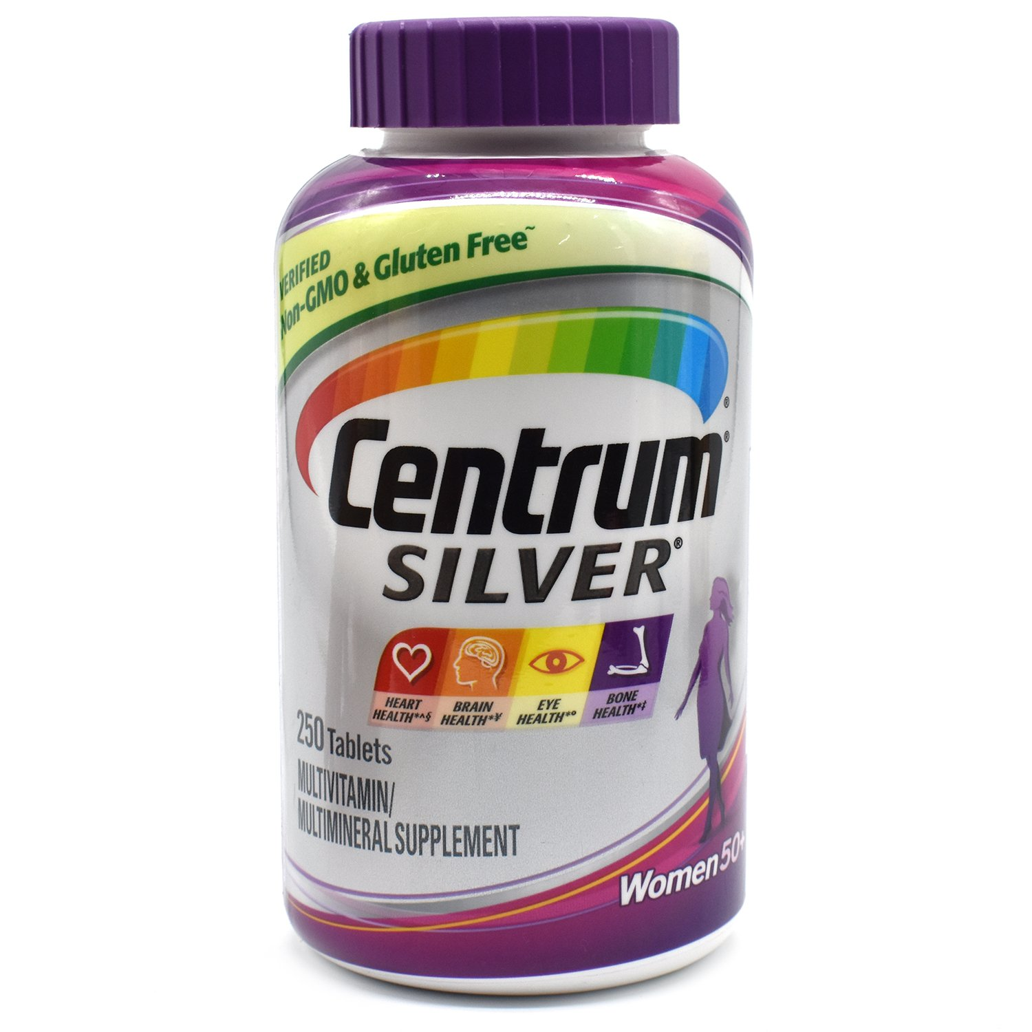 Centrum Silver Women s 50 Multivitamin and Multimineral Supplement Tablets, 250 ct.