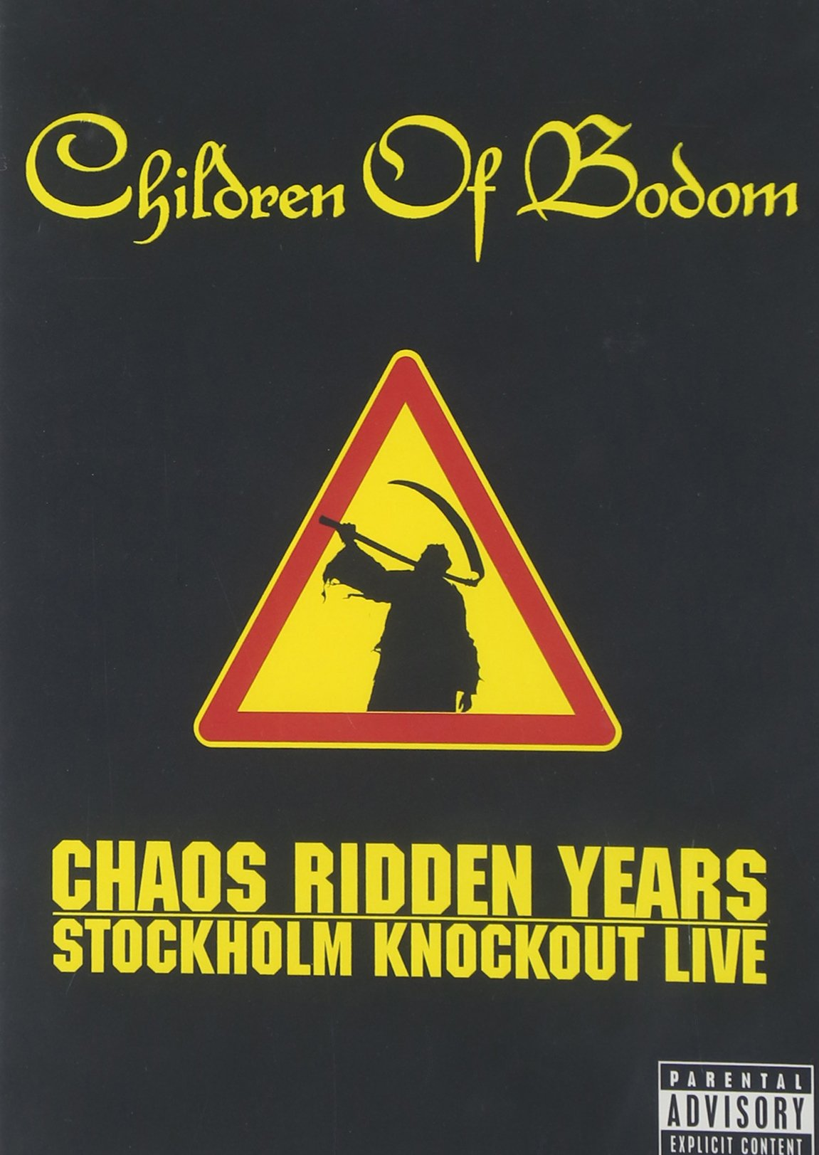 Children of Bodom: Chaos Ridden Years/Stockholm Knockout Live by Ume Imports