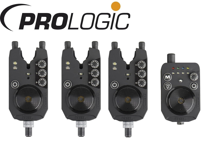 Prologic R2L Bite Alarm Presentation Set 3+1 - Bissanzeiger Set zum Karpfenangeln, Angeln auf Karpfen, Funkbissanzeiger Bissmelder
