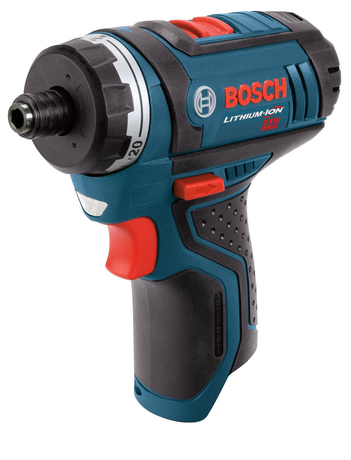 Bosch Bare-Tool PS21BN 12-Volt Max Lithium- Ion 2-Speed Pocket Driver with Exact-Fit L-BOXX Tool Insert Tray