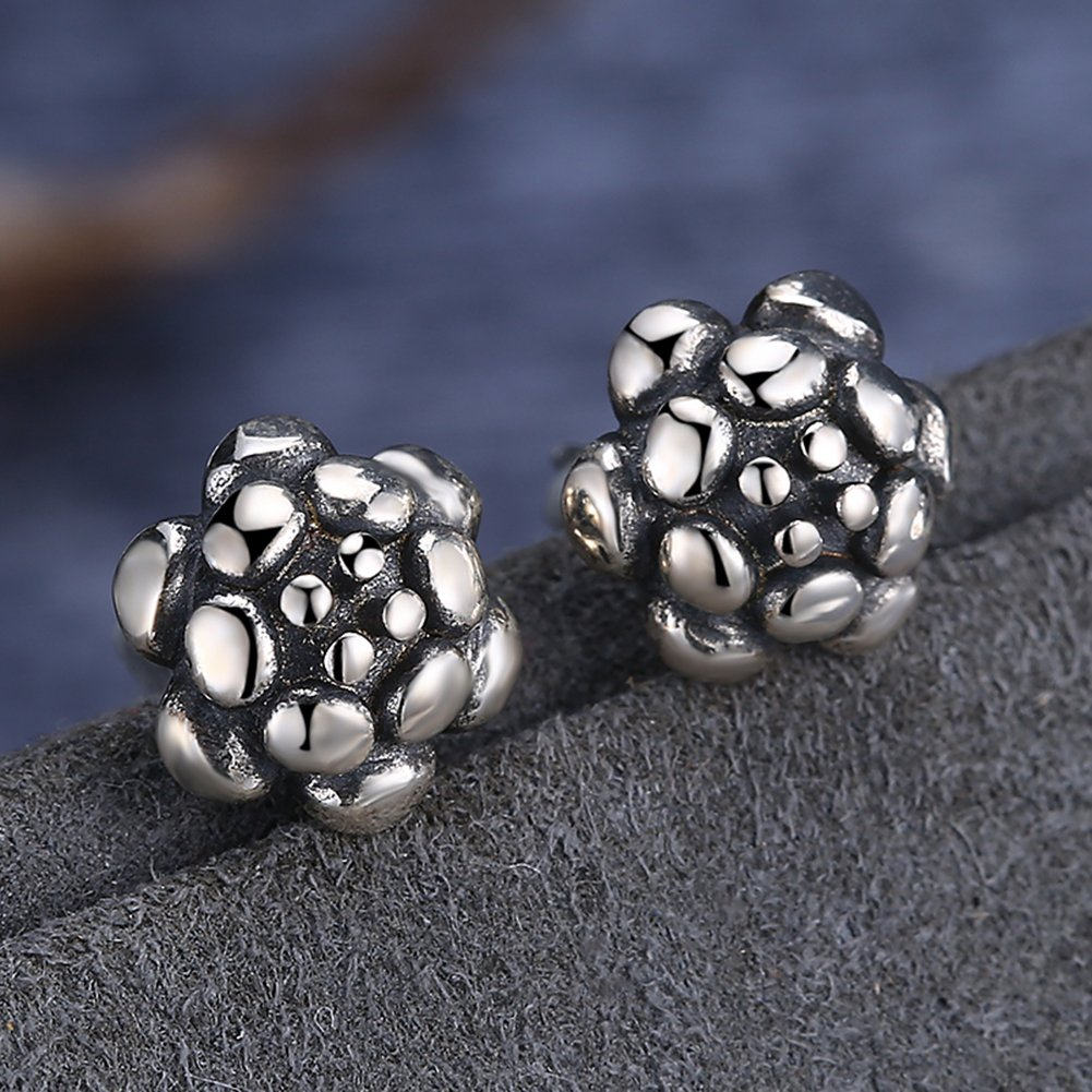 2018 FIFA World Cup Soccer Ball 925 Sterling Silver Earring Fashion Wedding Jewelry by YJEdward (Image #4)