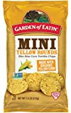 Garden of Eatin' Mini Yellow Rounds Corn Tortilla Chips, 7.5 oz. (Pack of 12)