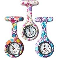 Boolavard® TM 3pcs Flores Reloj Silicona Supervisión