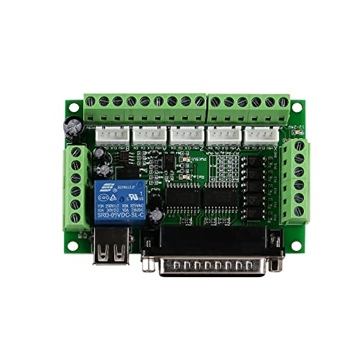 SainSmart CNC Router 3 Axis Kit, TB6600 3 Axis 4.5A Stepper Motor Driver Board, Mach3 5 Axis Breakout Board - - Amazon.com