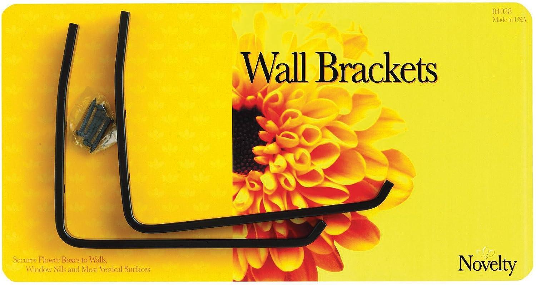 Flower Box Wall Bracket,No 4038 Novelty Mfg Co