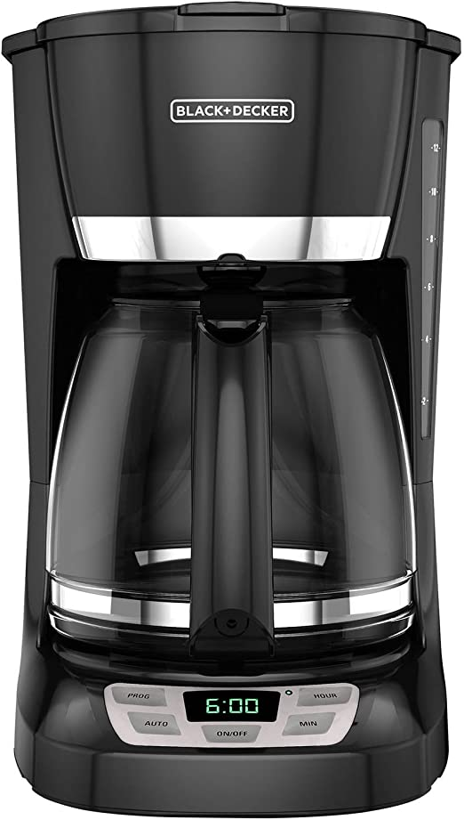 Black Decker 12 Cup Programmable Coffee Maker