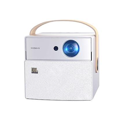 XGIMI CC Aurora Proyector (Cine en Casa, TV sin Pantalla, Fácil de Llevar, LED 180 Pulgadas, 350ANSI Lúmenes, Wi-Fi Banda Dual 2.4G/5G, Android OS, ...