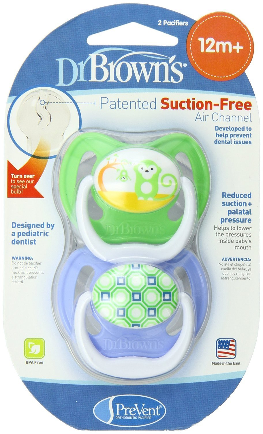 Amazon.com : Soft, Thin Stem Design Babys Pacifier for Stage 3 : Baby