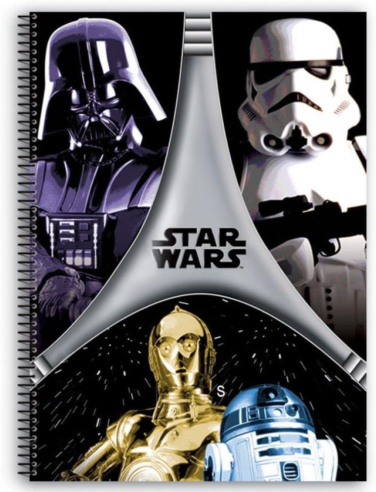 A5 Star Wars Ringbuch Darth Vader Notizbuch