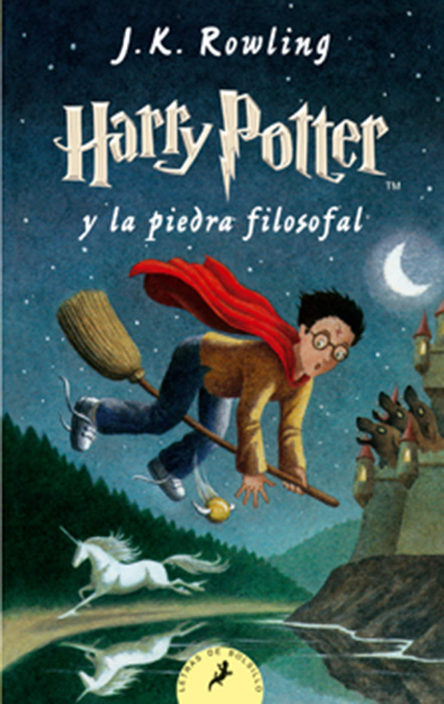 Harry Potter y la Piedra Filosofal: Amazon.es: Rowling, J.K.: Libros