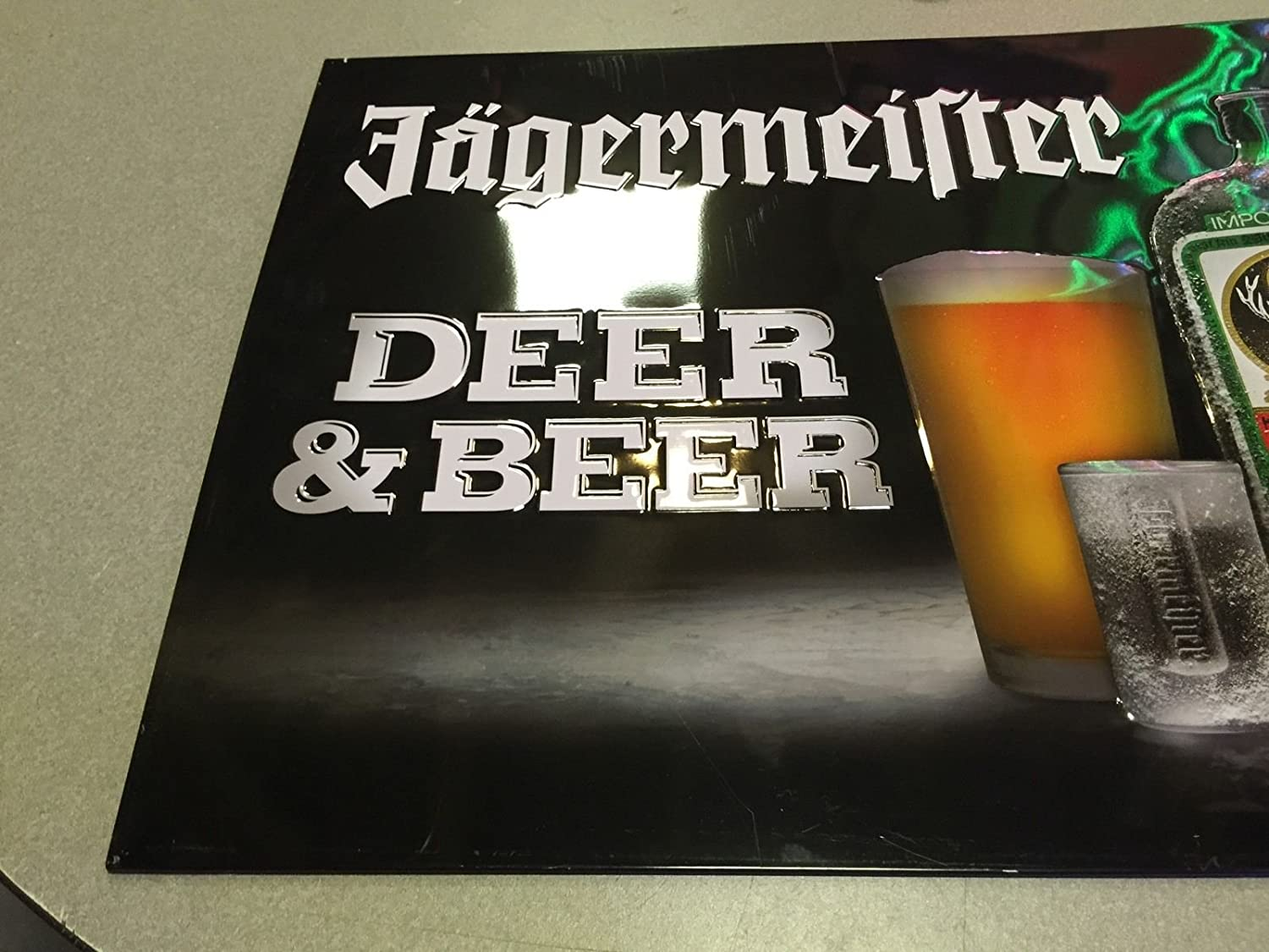 Amazon.com: Jagermeister XL metal pub Sign – Ciervos y una ...