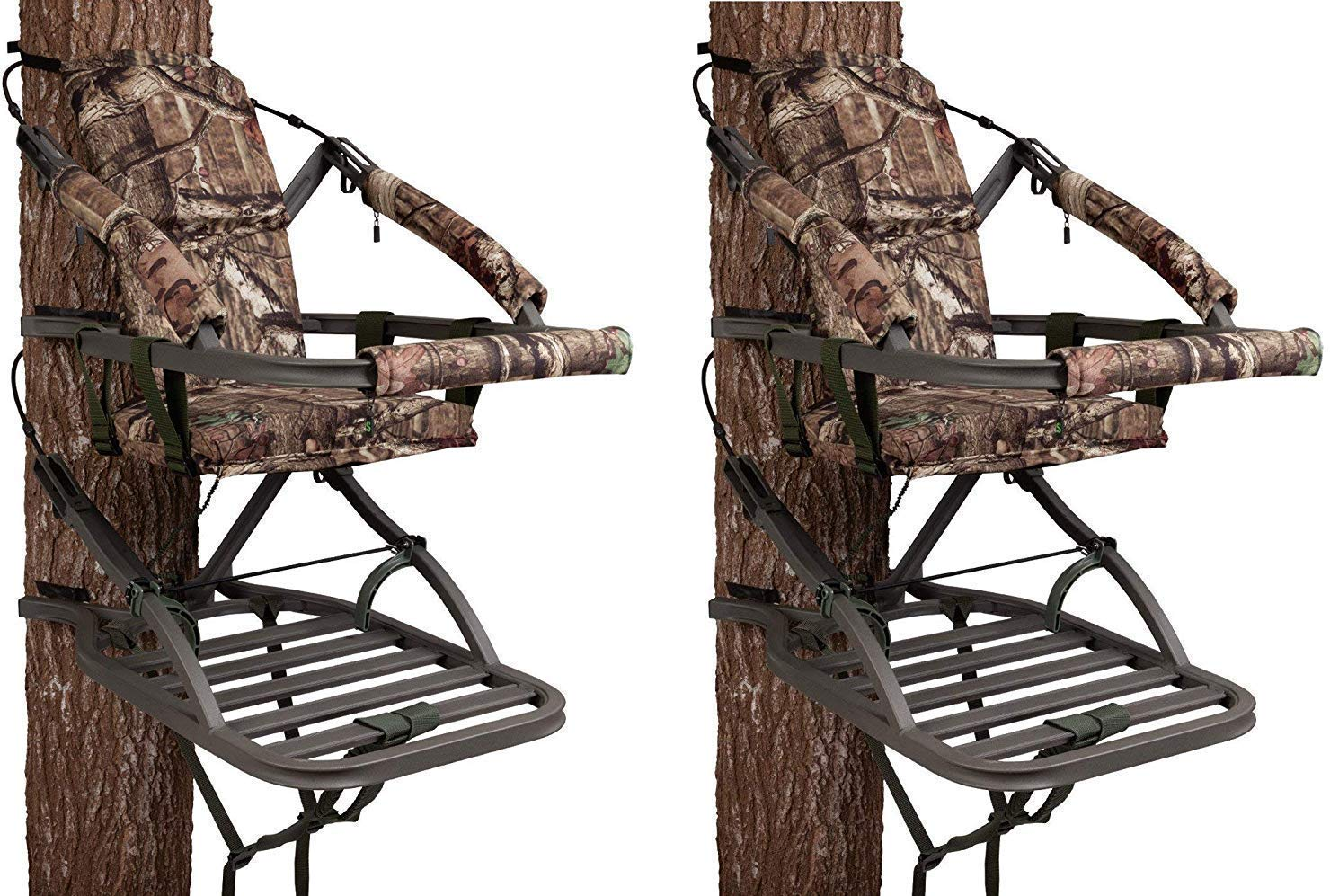Lone Wolf Portable Trees ATSQ Hang On Stand Alpha Tech 4-Stick Quiver 2 Pack