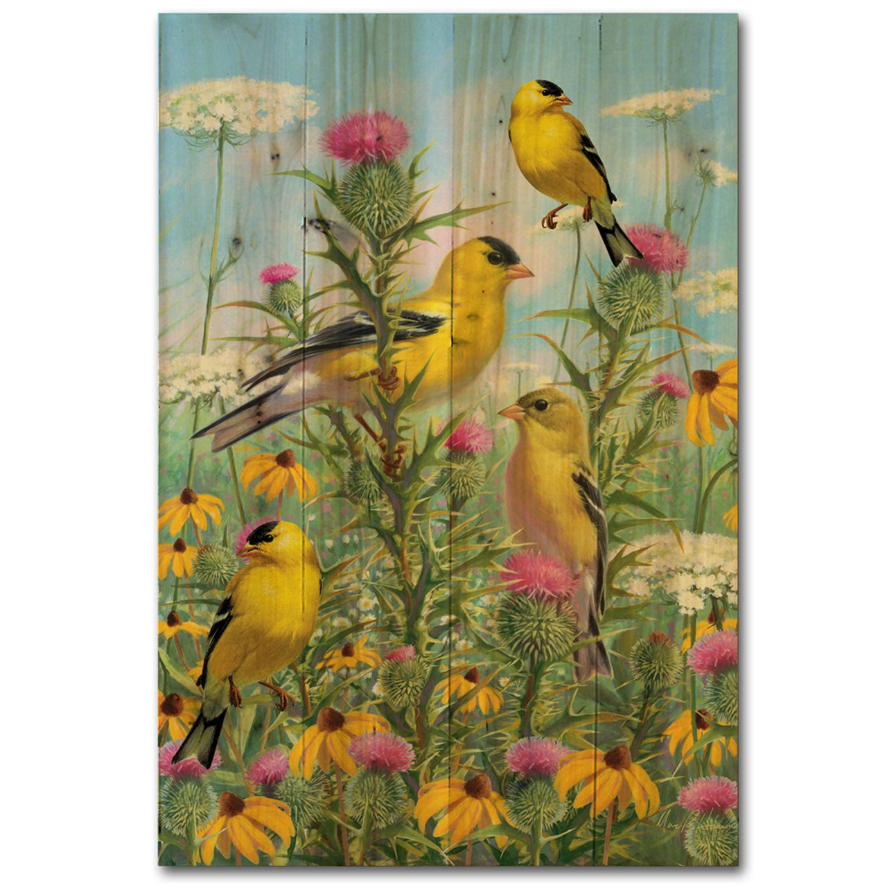 WGI Gallery WA-GG-812 Golden Glories Wall Art