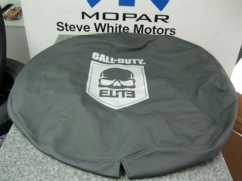 1997-2013 Jeep Wrangler Call of Duty MW3 ELITE COD Spare Tire Cover MOPAR OEM