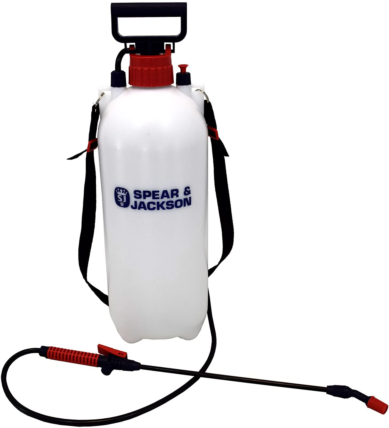 Spear and Jackson 8 Litre Pump Action Pressure Sprayer