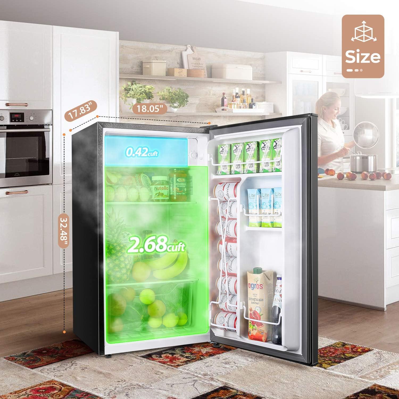 consumer reports best mini fridge