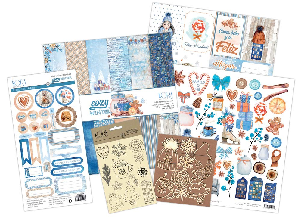 Cozy Winter Scrapbooking-Set KORA projects