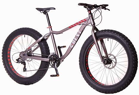 Crest Bicicleta Fat Bike Fat 4,1 24v Aluminio: Amazon.es: Deportes y aire libre